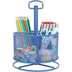 Inbox Zero Mesh Desk Organizer, Pencil Holder in Blue, Size 10.23 H x 7.48 W x 4.13 D in   Wayfair 86F43B5574454E88A9D802C4B0B18129 found on Bargain Bro Philippines from Wayfair for $94.99