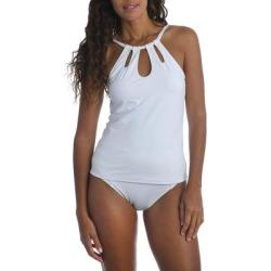 High Neck Tankini Top - White - La Blanca Beachwear found on Bargain Bro from lyst.com for USD $67.64