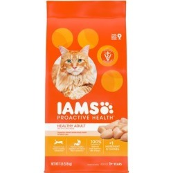 Iams ProActive Health with Chicken Adult Dry Cat Food, 7 lbs.