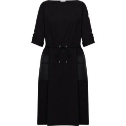 Jersey Dress - Black - Moncler Dresses found on Bargain Bro Philippines from lyst.com for $795.00