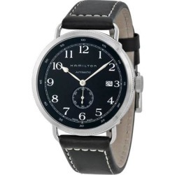 Khaki Navy Pioneer Automatic Black Dial Mens Watch - Metallic - Hamilton Watches found on Bargain Bro India from lyst.com for $549.00