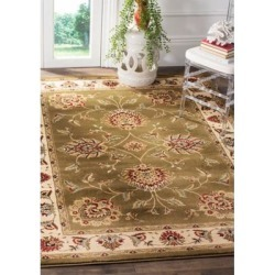 Safavieh Green/Ivory Lyndhurst Ivory Oriental Area Rug Collection found on Bargain Bro Philippines from belk for $176.50