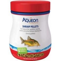 Aqueon Shrimp Pellets Fish Food, 3.25 oz.