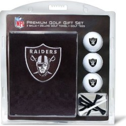 Las Vegas Raiders Embroidered Golf Gift Set found on Bargain Bro from nflshop.com for USD $22.79