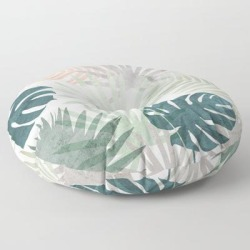 Floor Pillow | Tropicalia by Grace - ROUND - 30
