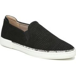 Women's Jade Slip-On by Naturalizer in Black Croco (Size 8 M) found on Bargain Bro India from Roamans.com for $89.99