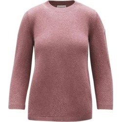 3/4 Sleeve Sweater - Purple - Moncler Knitwear found on Bargain Bro Philippines from lyst.com for $750.00