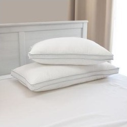 Maison Condelle -Pair of Cooling Comfort Waterproof Pillow Protector with Gusset - White (Standard) found on Bargain Bro from Overstock for USD $12.46