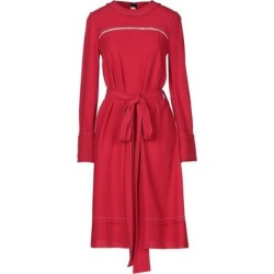Knee-length Dress - Red - Marni Dresses found on MODAPINS from lyst.com for USD $342.00