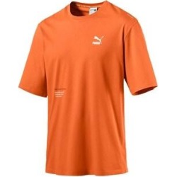 Puma Mens Trail Against The Odds Graphic T-Shirt Cotton Logo - Orange - M (Orange - M), Men's found on Bargain Bro from Overstock for USD $18.11