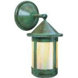 Arroyo Craftsman Berkeley 17 Inch Tall 1 Light Outdoor Wall Light - BB-8W-GW-VP found on Bargain Bro from Capitol Lighting for USD $342.00
