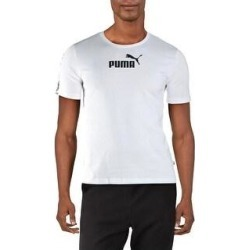 Puma Mens Amplified T-Shirt Fitness Workout (Puma White - XL), Men's(cotton) found on Bargain Bro from Overstock for USD $10.82