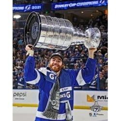 Brayden Point Tampa Bay Lightning Fanatics Authentic Unsigned 2021 Stanley Cup Champions Raising Photograph found on Bargain Bro Philippines from Fanatics for $14.99