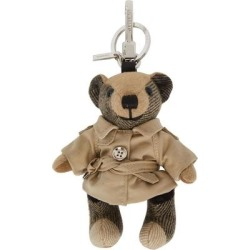 Beige Trench Coat Thomas Keychain - Natural - Burberry Hats found on Bargain Bro from lyst.com for USD $220.40
