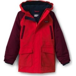 Boys Squall Waterproof Winter Parka - Lands' End - Red - M found on Bargain Bro from landsend.com for USD $38.81