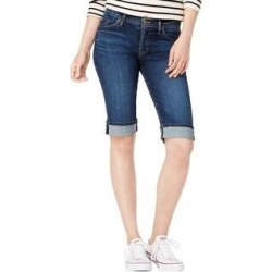 Hudson Womens Amelia Casual Bermuda Shorts (23), Women's, Blue(cotton) found on MODAPINS from Overstock for USD $66.10