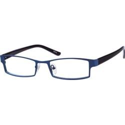 Zenni Men's Classic Rectangle Prescription Glasses Blue Plastic Frame found on Bargain Bro from Zenni Optical for USD $9.84