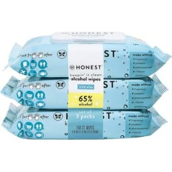 The Honest Company Baby Wipes - 50-Ct. Alcohol Wipes - Set of Three