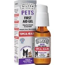 Sovereign Silver Pets Topical Healing First Aid Dog & Cat Gel, 1-oz bottle found on Bargain Bro Philippines from Chewy.com for $14.99