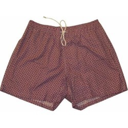 Brioni Mens Pink Geometric Print Swim Shorts 2XL (Pink - 2XL), Men's(Cotton) found on MODAPINS from Overstock for USD $125.00