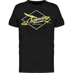 Champion Spark Plugs Service Tee Men's -Image by Shutterstock (3XL), Black found on Bargain Bro Philippines from Overstock for $16.99