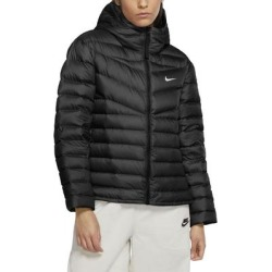 Water Repellent Windrunner Down Jacket - Black - Nike Jackets found on Bargain Bro from lyst.com for USD $121.60