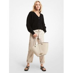 Michael Kors Washed Cotton Cargo Pants Natural 2 found on MODAPINS from Michael Kors for USD $93.75