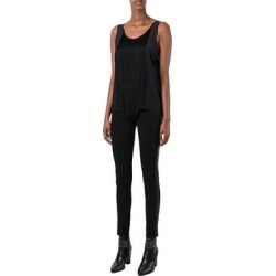 Barbara Bui Black Silk Fringe Top found on MODAPINS from Overstock for USD $189.05