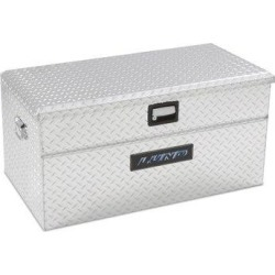 Lund Inc. Wide Side Mount Single Lid Truck Tool BoxAluminum in Gray, Size 19.0 H x 40.0 W x 24.5 D in   Wayfair 9436WB found on Bargain Bro Philippines from Wayfair for $429.99