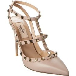 Valentino Rockstud Caged 100 Leather Pump found on Bargain Bro from Overstock for USD $668.79
