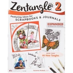 Fox Chapel Publishing Art Activity Books - Zentangle 2: Scrapbooks and Journals found on Bargain Bro India from zulily.com for $6.99