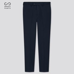 UNIQLO Men's Smart Slim-Fit Pants, Navy, 34 in. found on Bargain Bro Philippines from Uniqlo for $9.90