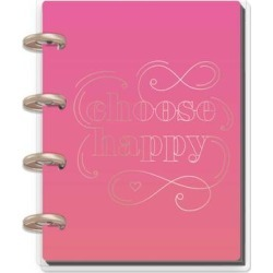 The Happy Planner Notepads and Notebooks - 'Choose Happy' Notebook found on Bargain Bro India from zulily.com for $5.49
