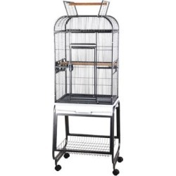 A&E Cage Company Flat-Top Playtop Bird Cage with Plastic Base, 20