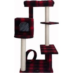 Armarkat 50-in Classic Cat Tree With Bench & Perch