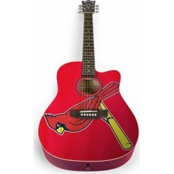 St. Louis Cardinals Woodrow Acoustic Guitar found on Bargain Bro Philippines from Fanatics for $399.99