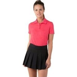 petite Women's Short Sleeve Golf Polo Shirt (Sierra Coral Heather - X-Small), Multicolor(polyester, Solid) found on Bargain Bro India from Overstock for $25.97