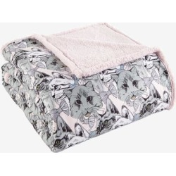Micro Flannel Reverse to Sherpa Blanket by Shavel Home Products in Cat Collage (Size FL/QUE)