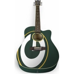 Green Bay Packers Woodrow Acoustic Guitar found on Bargain Bro Philippines from Fanatics for $399.99