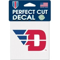 Dayton Flyers Decal 4x4 Perfect Cut Color (Red) found on Bargain Bro Philippines from Overstock for $19.32