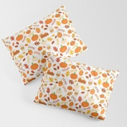 Pillow Sham   Everything Autumn by Sara Showalter - STANDARD SET OF 2 - Cotton - Society6 found on Bargain Bro from Society6 for USD $30.39