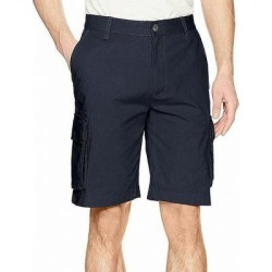 Calvin Klein Mens Cargo Shorts Navy Blue Size 36 Ripstop Classic Fit (36), Men's(cotton) found on Bargain Bro from Overstock for USD $25.82