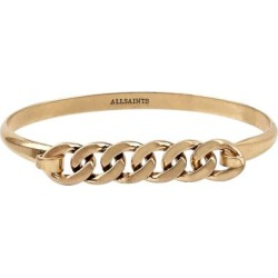 Chain Bangle - Metallic - AllSaints Bracelets found on Bargain Bro from lyst.com for USD $44.84