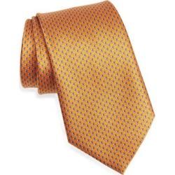 Geo Silk Tie - Orange - Ermenegildo Zegna Ties found on Bargain Bro India from lyst.com for $195.00