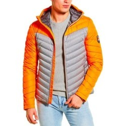 Superdry Chevron Colorblocked Down Jacket (S), Men's, Multicolor(polyester) found on Bargain Bro India from Overstock for $109.99