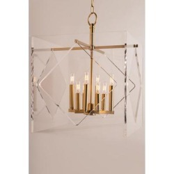 Hudson Valley Lighting Travis 24 Inch Cage Pendant - 5924-AGB found on Bargain Bro from Capitol Lighting for USD $2,014.00