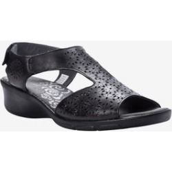 Women's Winnie Sandal by Propet in Black (Size 8 M) found on Bargain Bro from Woman Within for USD $64.59