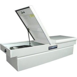 Lund Inc. Gull Wing Cross Bed Truck Tool BoxSteel in Gray, Size 11.5 H x 60.75 W x 20.5 D in   Wayfair 86251 found on Bargain Bro Philippines from Wayfair for $459.99