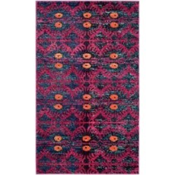 Safavieh Pink/Multi Monaco Adel Area Rug Collection found on Bargain Bro Philippines from belk for $328.00