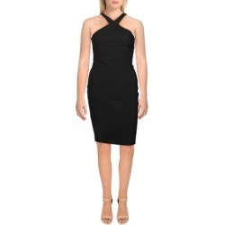 Likely Womens Carolyn Sheath Dress Halter Cocktail - Black found on MODAPINS from Overstock for USD $68.49